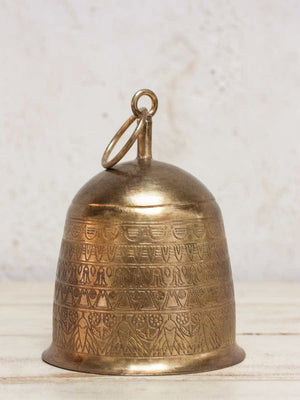 Sweet Song Brass Plated Metal Bell