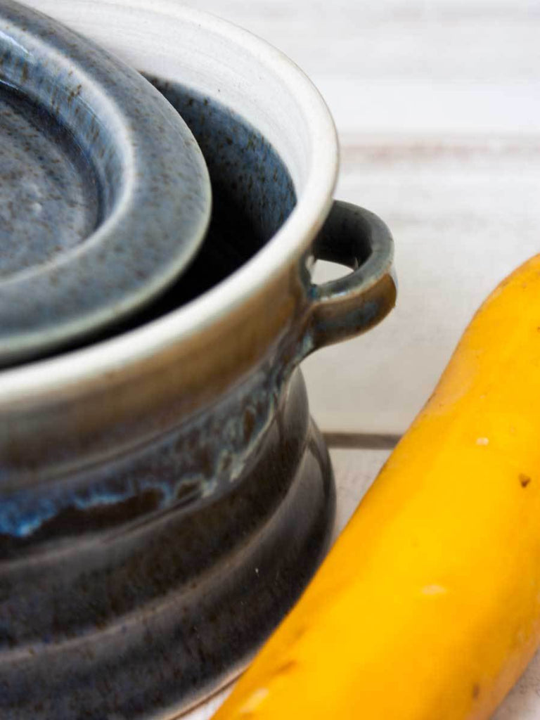 Charcoal Stoneware Heat, Serve, Store Casserole Ceramics