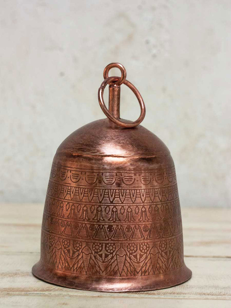Sweet Song Copper Plated Metal Bell - Pinklay