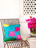 Firefly Garden Cotton Cushion Cover - Pinklay