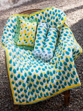 Firozi Ananas GOTS Certified Organic Cotton Cot Bedding Set of 5 New Kids Collection