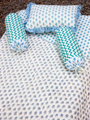 Fish Cotton Cot/Crib Fitted Sheet - Pinklay