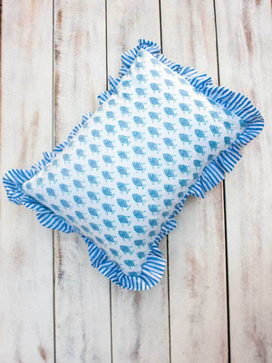 Little Fish Organic Cotton Infant Pillow - Pinklay