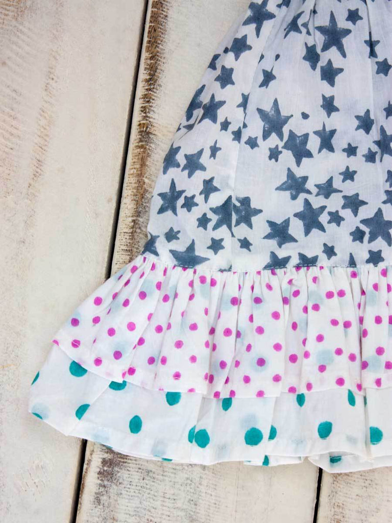 Grey Star Double Layered Organic Cotton Skirt - Pinklay