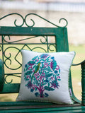 Jaipur Hand Block Print Cotton Cushion Cover - 12 Inch - Pinklay