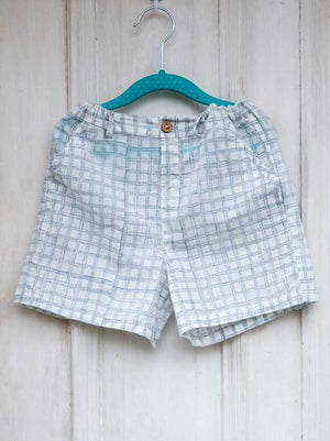 Checkmate Organic Cotton Shorts - Pinklay