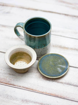 Mint Hand-Thrown Ceramic Loose Leaf Tea Set Ceramics