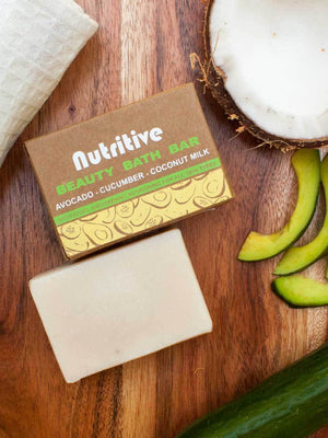 Nutritive - Natural Handmade Bath Bar - Pinklay
