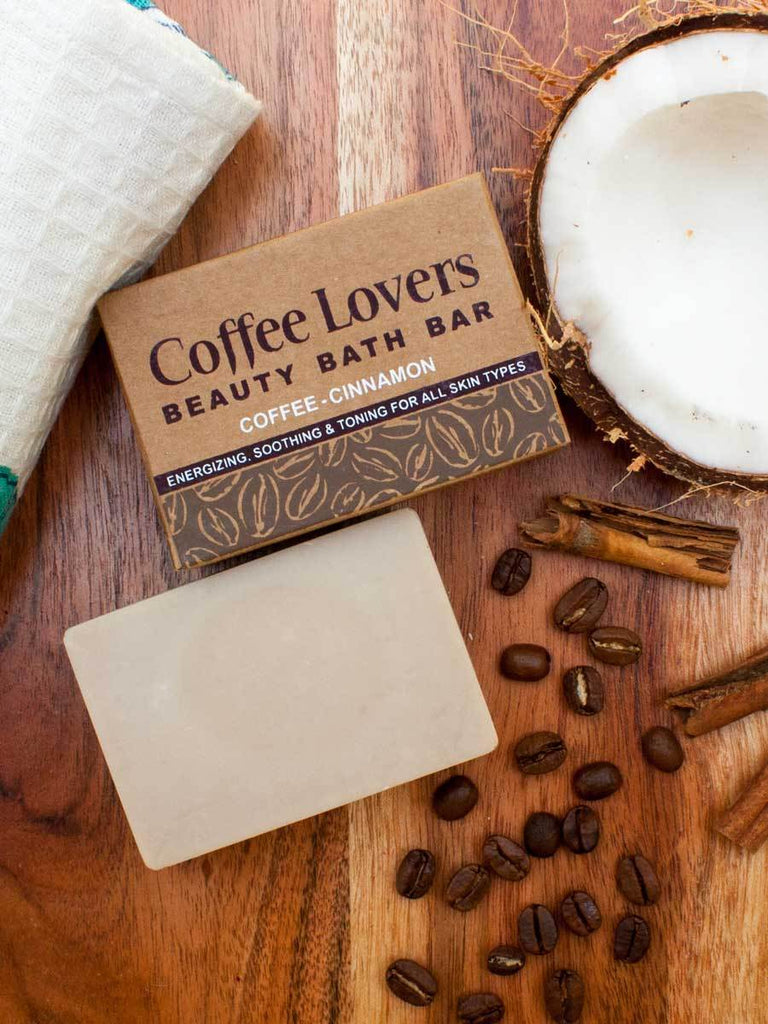 Coffee Lovers - Natural Handmade Bath Bar - Pinklay
