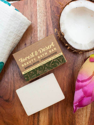 Forest & Desert - Natural Handmade Bath Bar - Pinklay