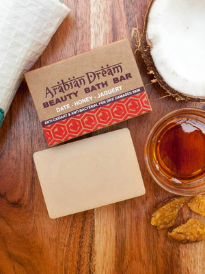 Arabian Dream - Natural Handmade Bath Bar - Pinklay