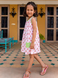 Appu Everyday Dress With Pocket - Pinklay