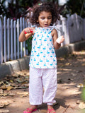 Pink Polka Organic Cotton Comfort Pants - Pinklay