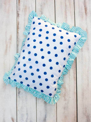 Big Polka Organic Cotton Infant Pillow - Pinklay