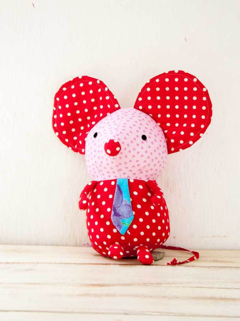 Remy the Mouse Fabric Plush Toy - Pinklay