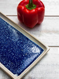 Rectangle Midnight Blue Tray Platter - Pinklay
