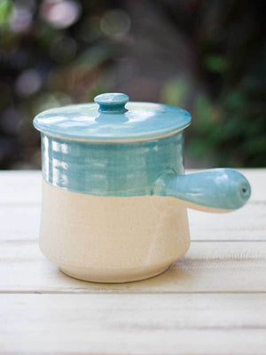 Ivory Waterfall Japanese Casserole - Pinklay