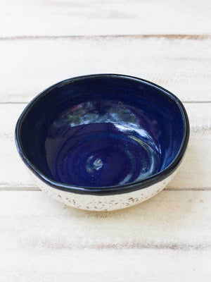 Milky Way Uneven Round Ceramic Bowl - Large - Pinklay