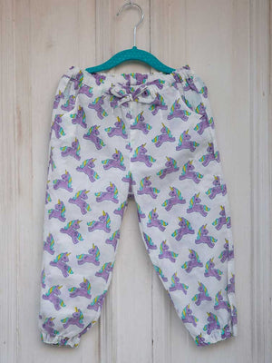 Unicorn Organic Cotton Comfort Pants - Pinklay