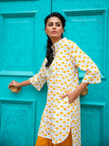 Wildflowers Cotton Kurta - Pinklay