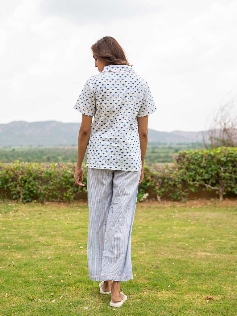 First Rain Soft Cotton Pajama Set - Pinklay