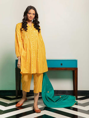 Nilay Cotton Pintuck Kurta - Pinklay