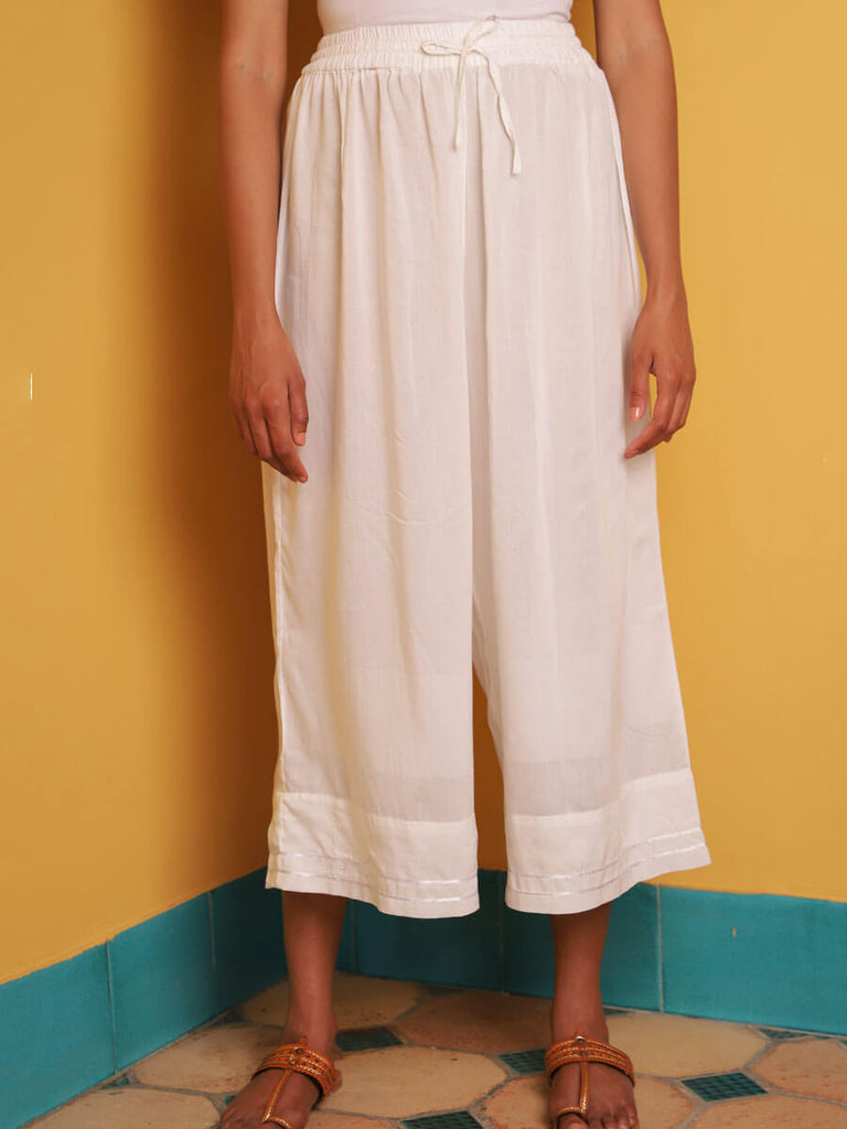 Moonstone Modal Silk Kaftan Dress With Tassels
