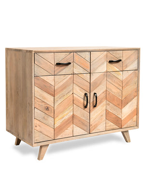 Maya Solid Wood Storage Cabinet