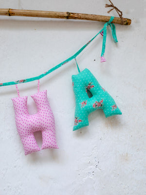 Personalized Name Decor - Spring Song - Pinklay
