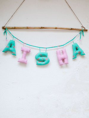 Personalized Name Decor - Spring Song