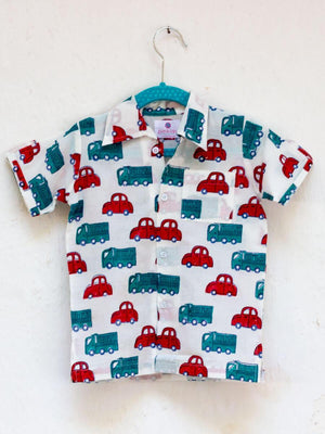 Power Wheels Organic Cotton Shirt Kids Clothing