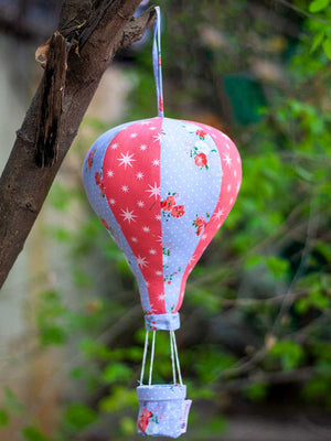 Russell's Hot Air Balloon Hanging Kids Decor - Pinklay