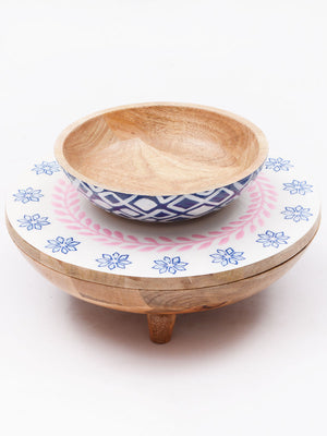Congo Two Tier Large Bowl Set - Pinklay