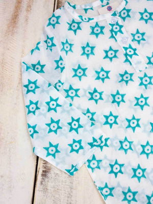 Star Splash Organic Cotton Kurta Kids Clothing