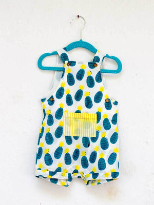 Sunshine Blast Organic Cotton Dungarees - Pinklay