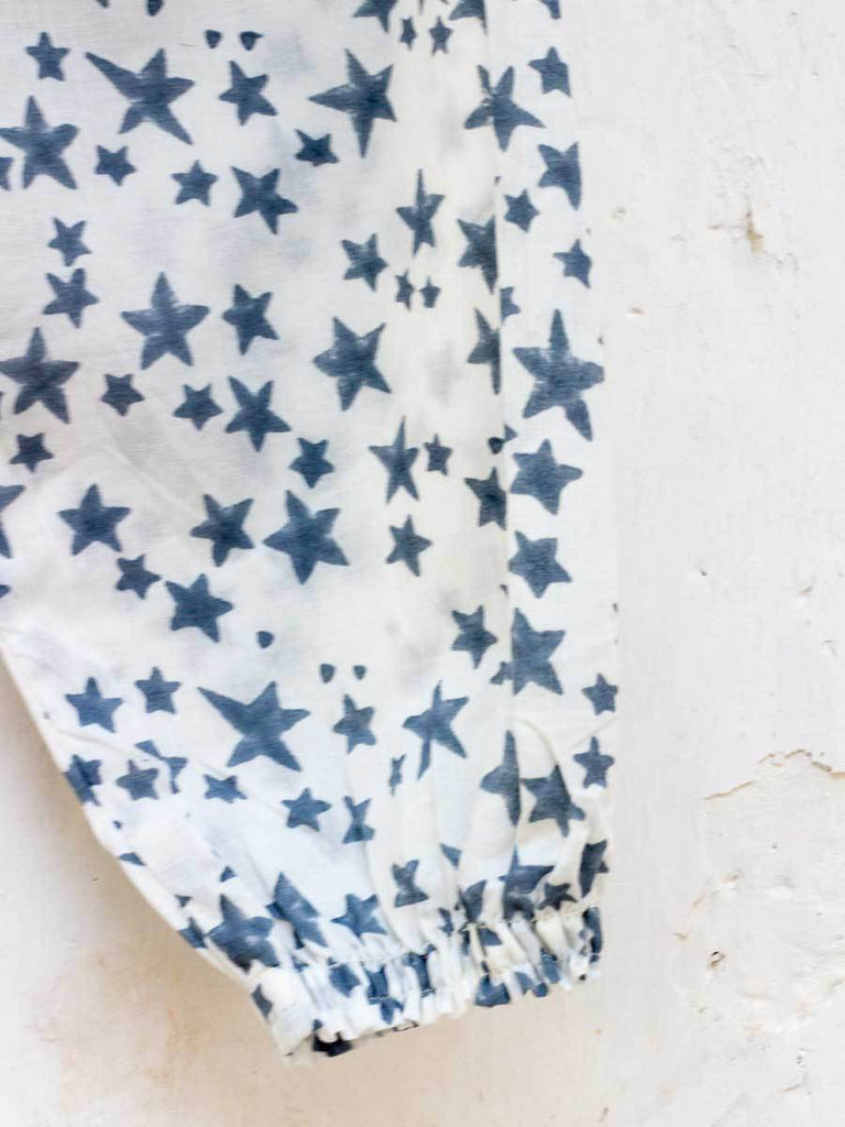Twinkle Stars Organic Cotton Comfort Pants - Pinklay