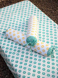 Appu Organic Cotton Infant Bolster - Set of 2 Kids Fitted Sheet