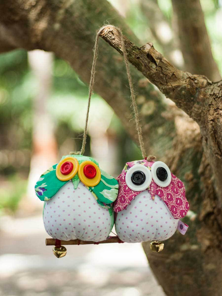 Twilight Owl Fabric Plush Toy Kids Plush Toys