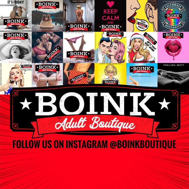 Boink Adult Boutique follow us @boinkboutique free shipping on orders over 49.99 in Canada Sex Toys couple toys c-rings vibrators lubricants oral sex enhancers penis pumps lingerie novelties adult games