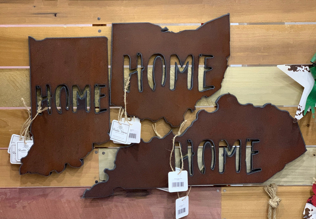 Rusted Tin States with HOME