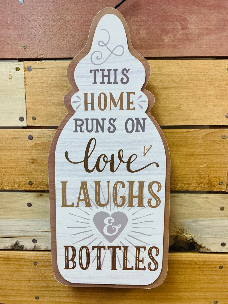 Baby Bottle Sign