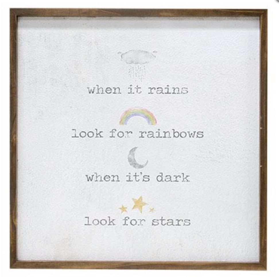 When It Rains, Look For Rainbows