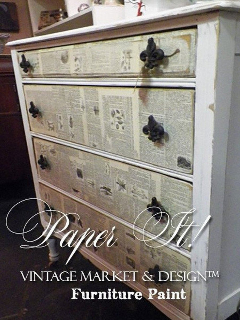 VINTAGE MARKET & DESIGN® PAPER IT!