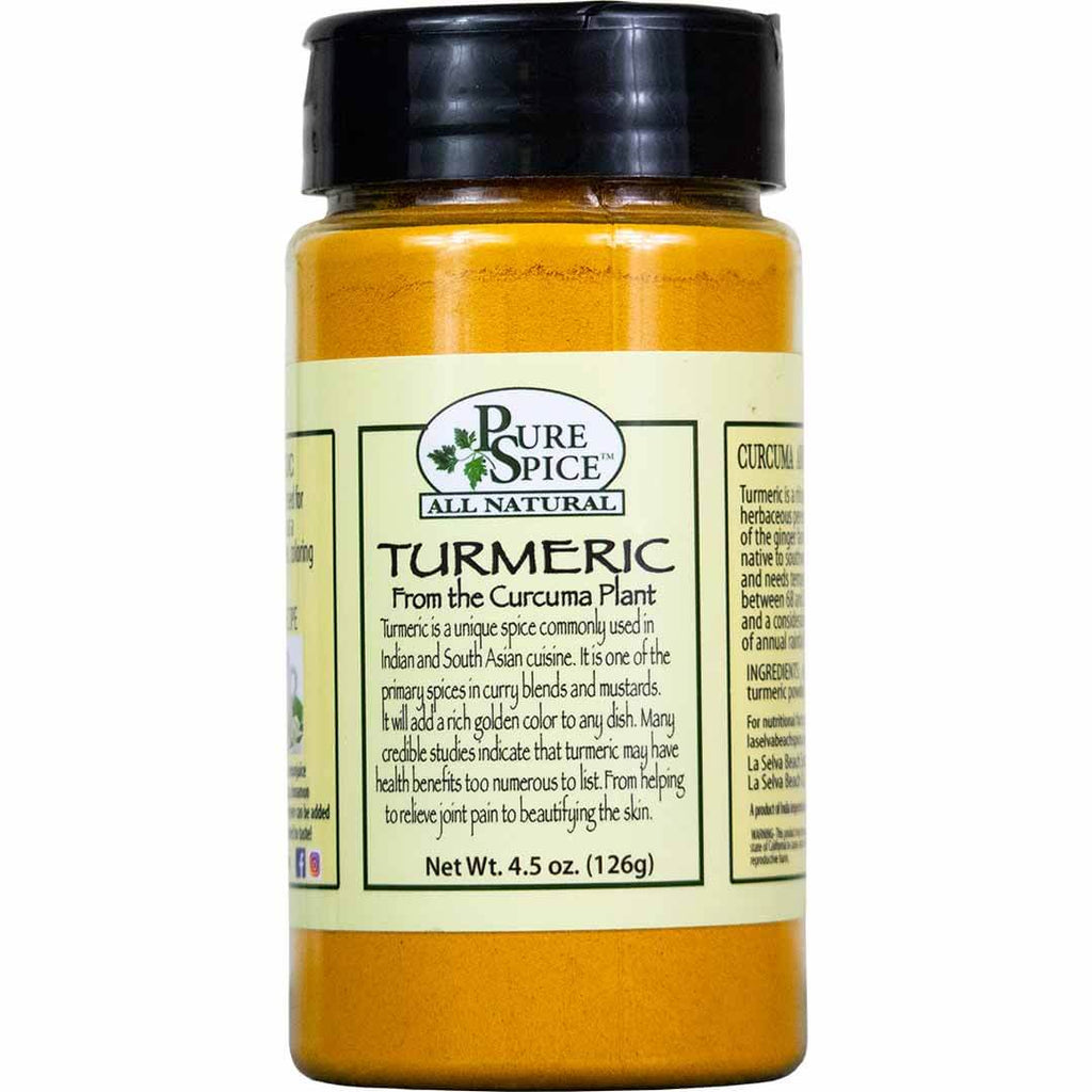 Turmeric Powder - 4.5 Oz Shaker
