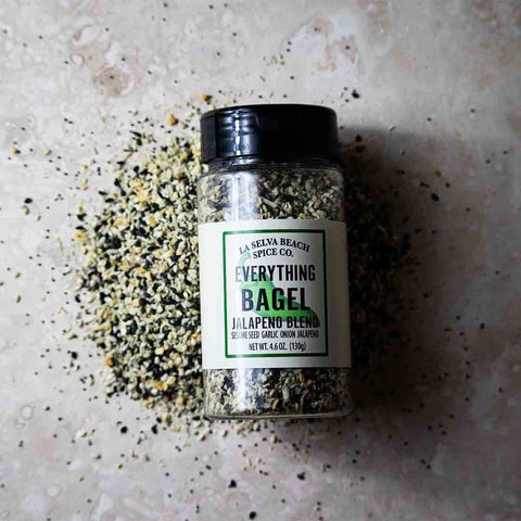 Jalapeno Everything Bagel Seasoning - 4.6 Oz. Shaker