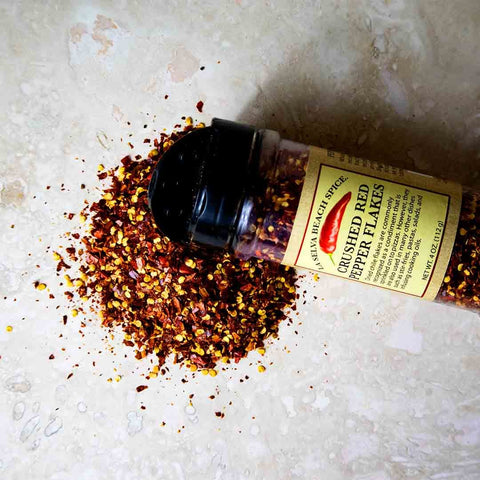 Crushed Red Pepper Flakes - 4 Oz. Shaker
