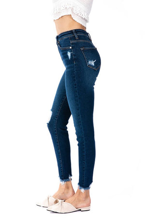 KanCan - Hailey High Rise Distressed Denim