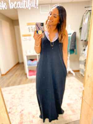 Midnight Maxi Dress