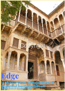 Edge In desert town of Rajasthan: A beautiful heritage mansion (Haveli)