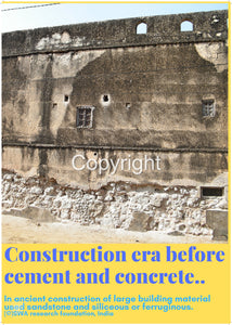 Construction era before cement and concrete